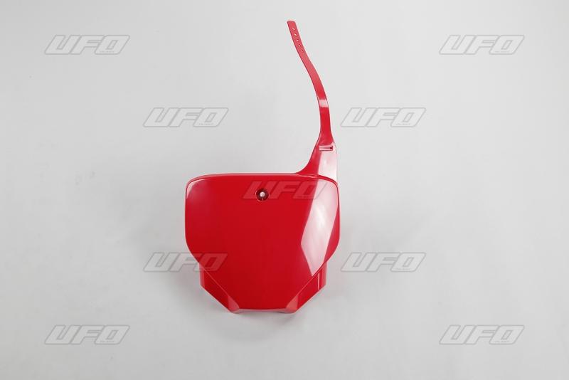 Přední číslová tabulka CRF 230 2006-2017-070-červená Honda