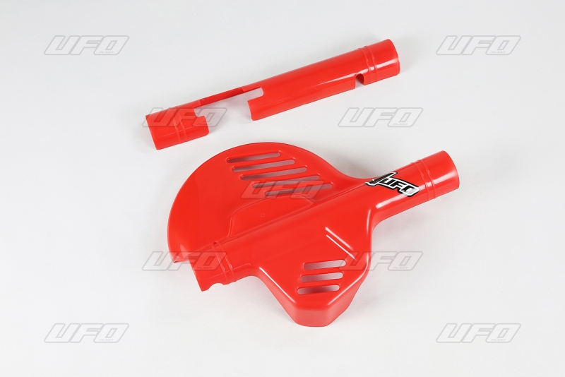 Kryt přední kotoučové brzdy-061-červená