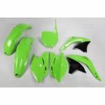 Sada plastů UFO KXF 450 2007-026-zelená KX org.
