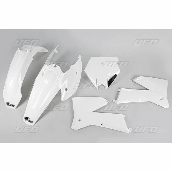 Sada plastů UFO KTM2T/4T 05-06-047-bílá KX