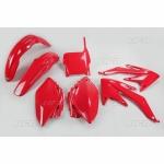 Sada plastů UFO CRF 450 05-06-070-červená Honda