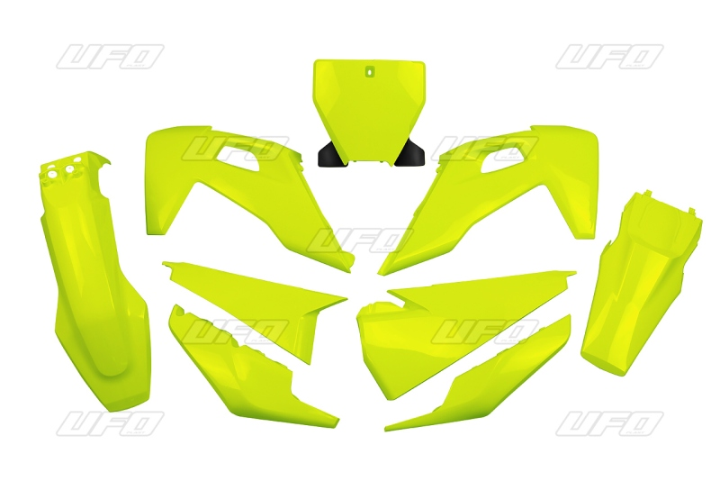 Sada plastů TC-FC 2019-DFLU-neon/žlutá