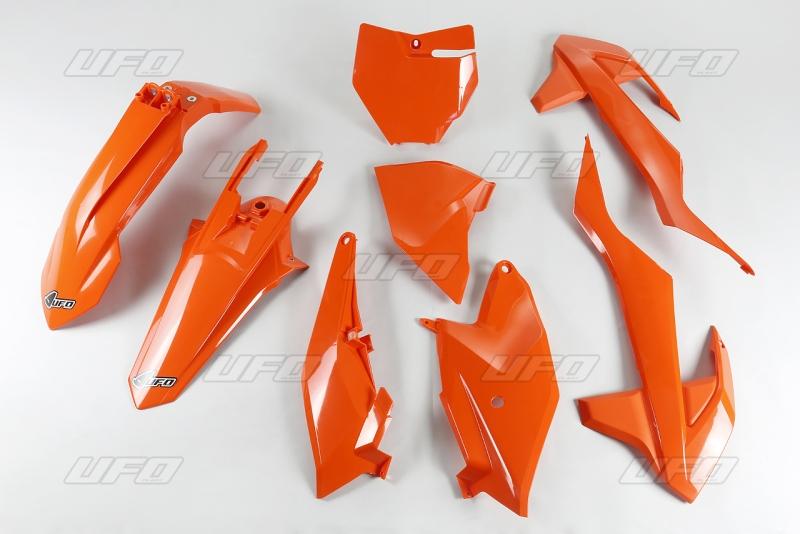 Sada plastů KTM 85 2018-127-oranžová (03-)