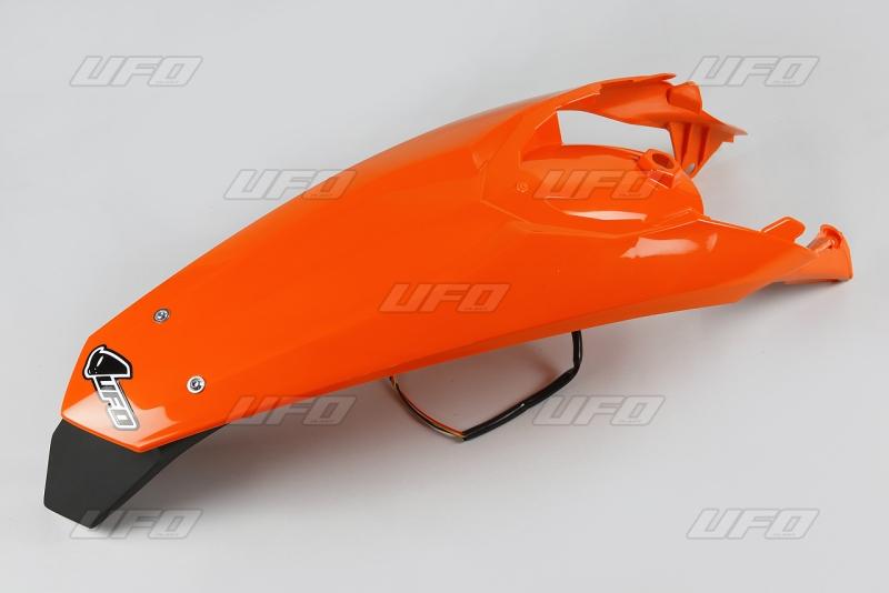 Zadní blatník s LED světlem SX-SXF (2011) -127-oranžová (03-)