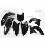 Sada plastů UFO KXF 450 2009-001-černá