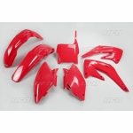 Sada plastů UFO CRF 450 2004-070-červená Honda