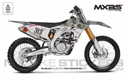 Design 165 - Suzuki RMZ 450  2018 - 2019