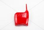 Přední číslová tabulka-070-červená Honda
