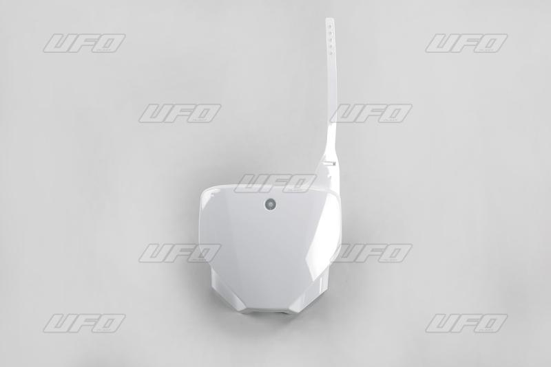 Přední číslová tabulka CRF 230 2006-2017-041-bílá