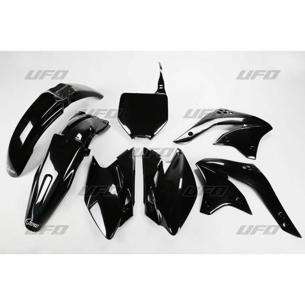Sada plastů UFO KXF 450 2008-001-černá