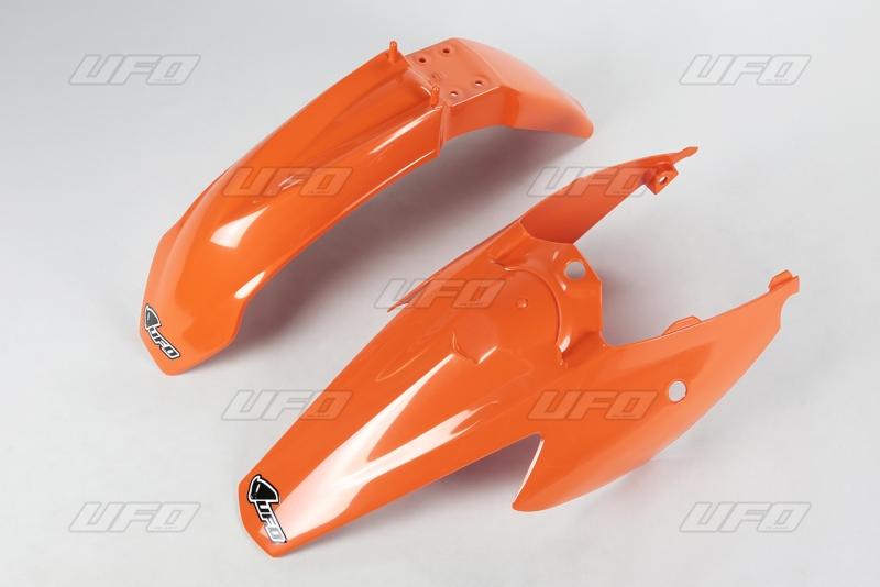 Sada blatníků KTM 85 2011-2012-127-oranžová (03-)