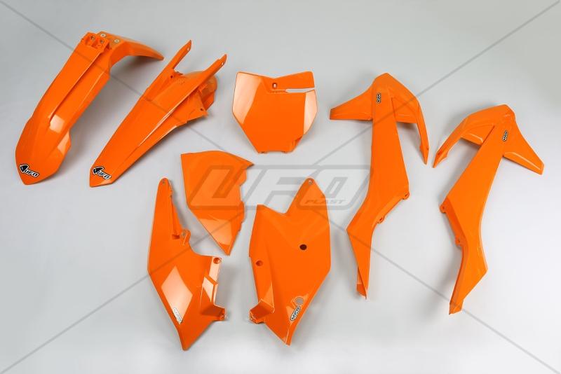 Sada plastů KTM SX- SXF  2016-2017-127-oranžová (03-)
