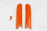 Chránič přední vidlice KTM-127-oranžová (03-)