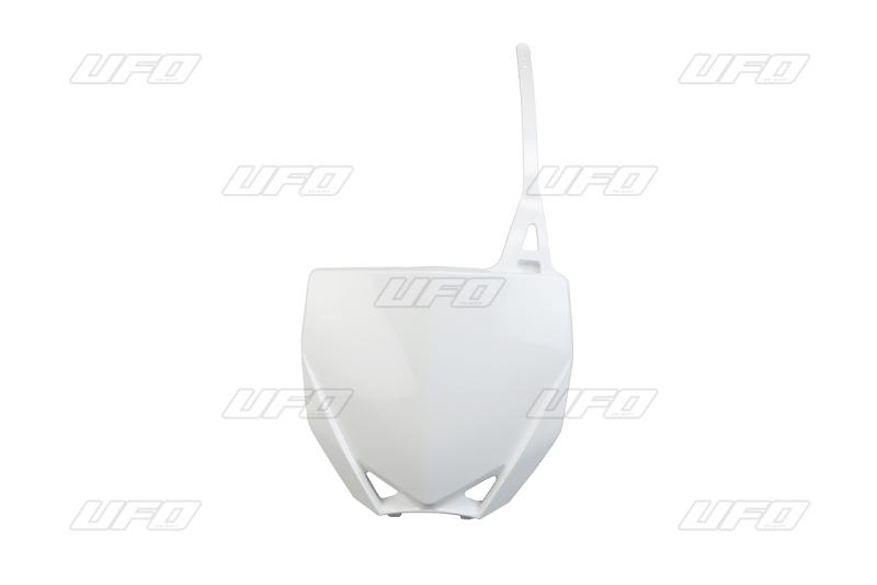 Přední číslová tabulka-046-bílá Yamaha