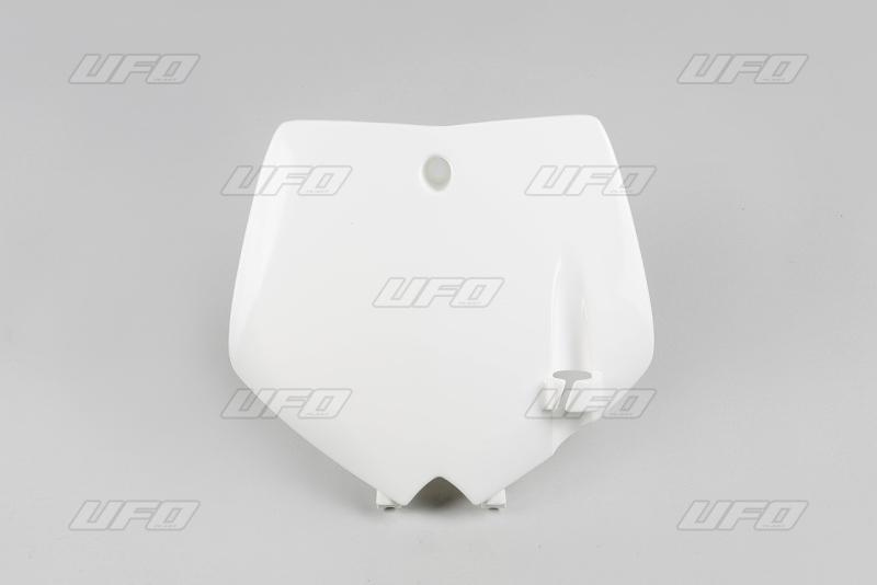 Přední číslová tabulka KTM-041-bílá