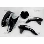 Sada plastů KTM 85 2013-2017-001-černá