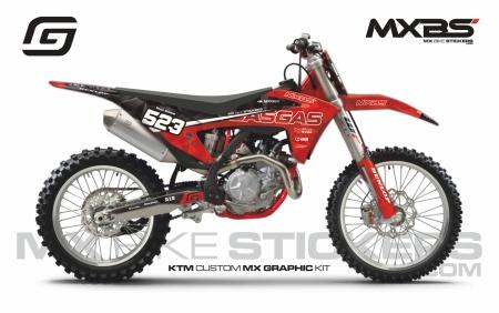 Design 222 - GASGAS EC-F 450  2021 - 2022