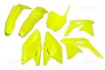 Sada plastů RMZ RMZ 450 2014-DFLU-neon/žlutá