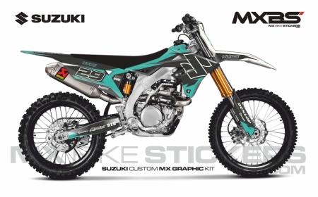 Design 220 - Suzuki RMZ 450  2018 - 2019, Suzuki RMZ 450  2008 - 2017