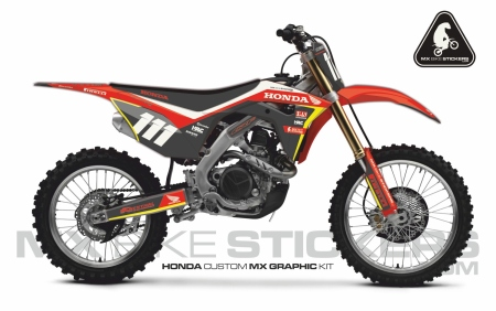 Design 97 - Honda CRF R 450  2017 - 2019, Honda CRF R 250  2018 - 2019