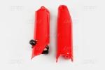 Chránič vidlic s pomocníkem startu-070-červená Honda