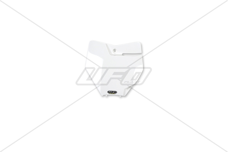 Přední číslová tabulka KTM SX-SXF 2016-047-bílá KX