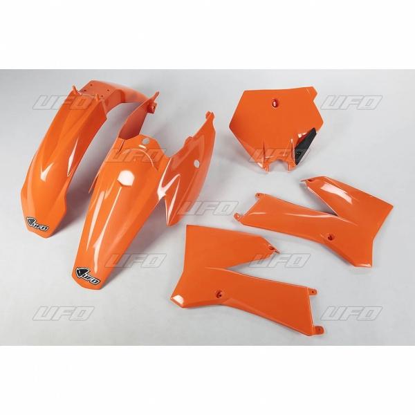Sada plastů KTM 85 2011-2012-127-oranžová (03-)