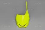 Přední číslová tabulka-DFLU-neon/žlutá