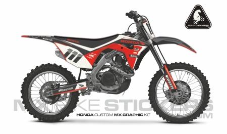 Design 101 - Honda CRF R 450  2017 - 2019, Honda CRF R 250  2018 - 2019