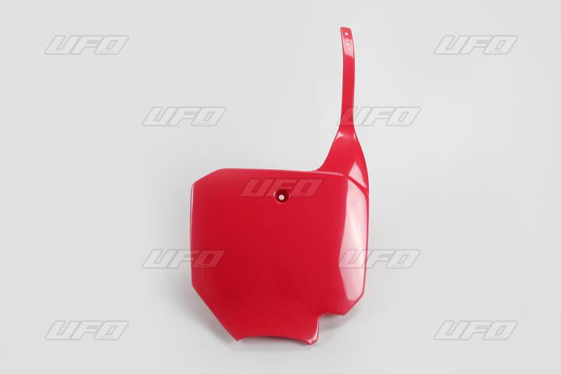 Číslová tabulka -070-červená Honda