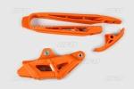 Sada vodítko + lízátko kyvné vidlice  EXC (2011)-127-oranžová (03-)