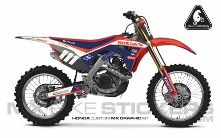 Design 102 - Honda CRF R 450  2017 - 2019, Honda CRF R 250  2018 - 2019