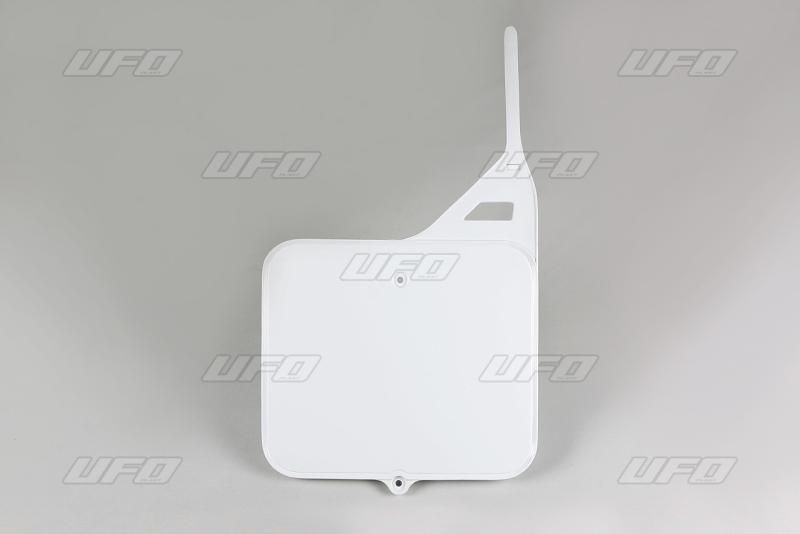 Přední číslová tabulka TM-041-bílá