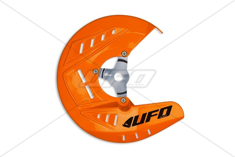 Chránič přední kotouč. brzdy  SX-SXF10-14,EXC10-16-127-oranžová (03-)