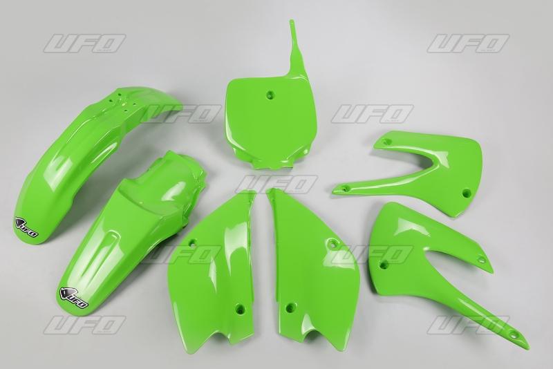 Sada plastů UFO KX 85 Restyling-026-zelená KX org.