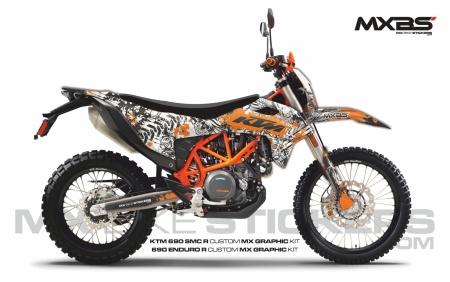 Design 238 - KTM SMC 690  2019 - 2021
