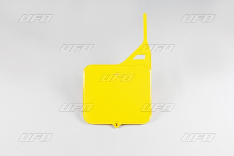 Přední číslová tabulka-101-žlutá -2001