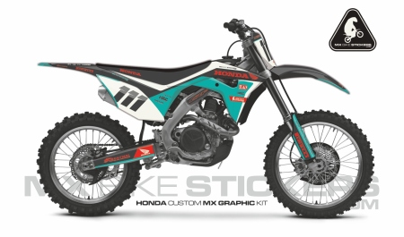 Design 104 - Honda CRF R 450  2017 - 2019, Honda CRF R 250  2018 - 2019