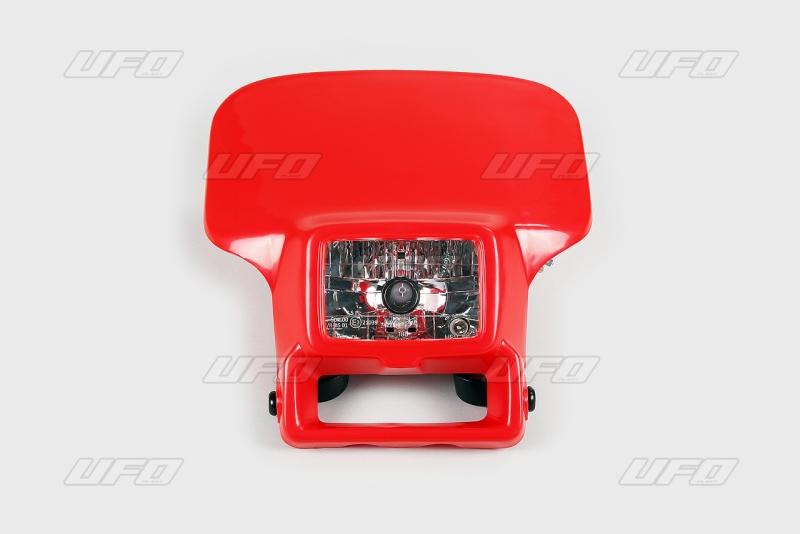 Maska se světlem XR H412V 60/65W-070-červená Honda