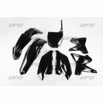 Sada plastů YZ 125-250 Restiling-001-černá