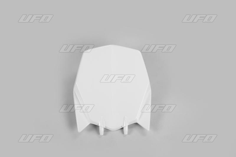 Přední číslová tabulka TC 449 2011-2013-041-bílá