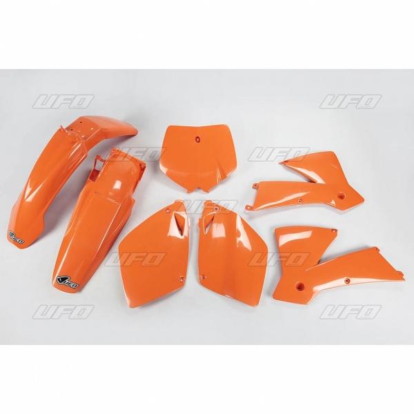 Sada plastů UFO SX/SXF 01-02-127-oranžová (03-)