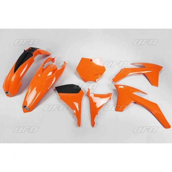 Sada plastů KTM SX 2011-127-oranžová (03-)