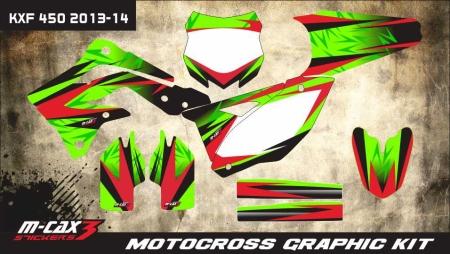 Design 3 - Kawasaki KXF 450  2012 - 2015