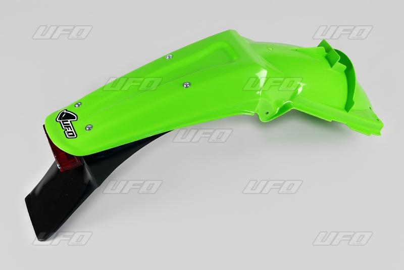 Zadní blatník enduro-025-zelená neonová