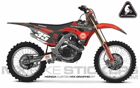 Design 60 - Honda CRF R 450  2017 - 2019, Honda CRF R 250  2018 - 2019