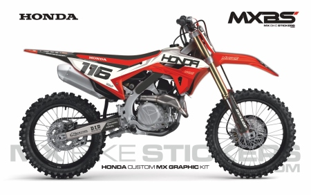 Design 206 - Honda CRF R 450  2021 - 2021