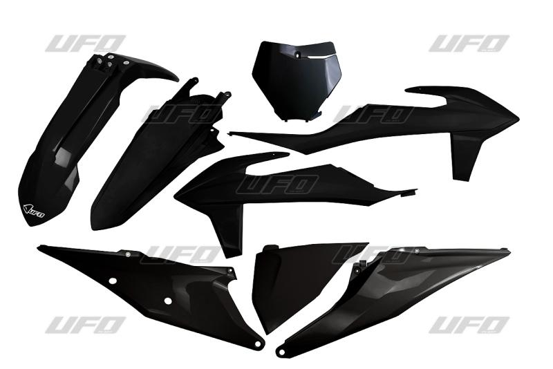 Sada plastů KTM SX- SXF 2019-2020-001-černá