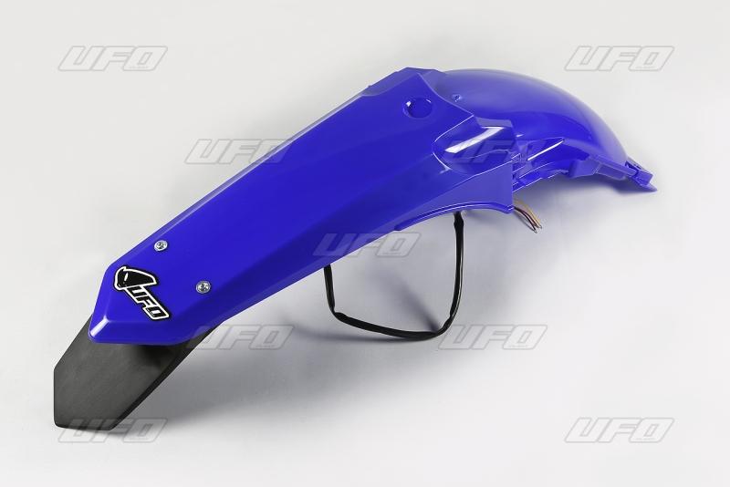 Zadní blatník enduro s LED světlem YZ 125-250 (2015)-089-modrá