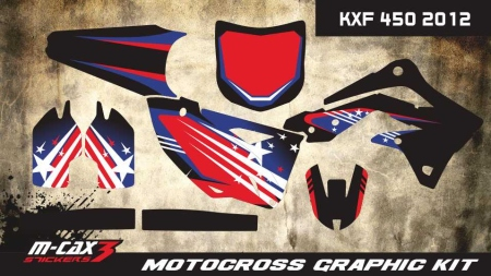 Design 7 - Kawasaki KXF 450  2012 - 2015